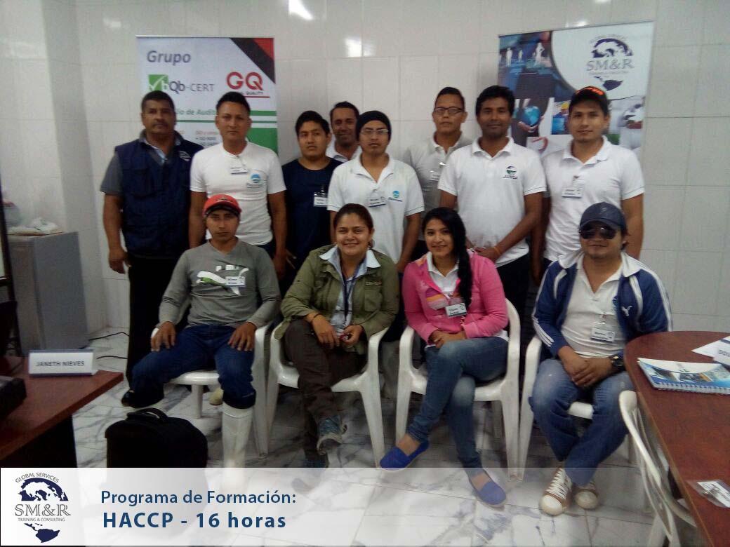 Haccp 16 hrs InHouse - Santa Elena