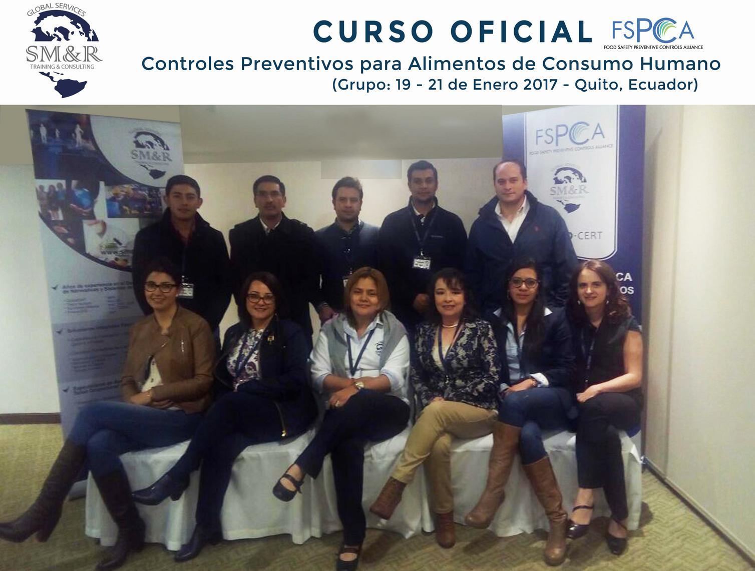 Grupo F FSPCA 19 21Ene2017