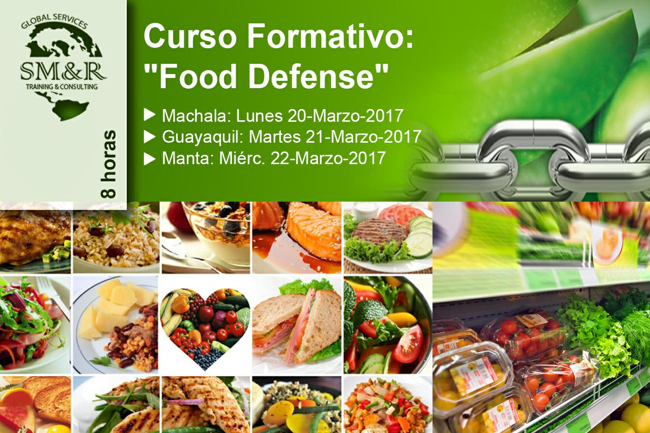 Curso Food Defense Marzo 2017