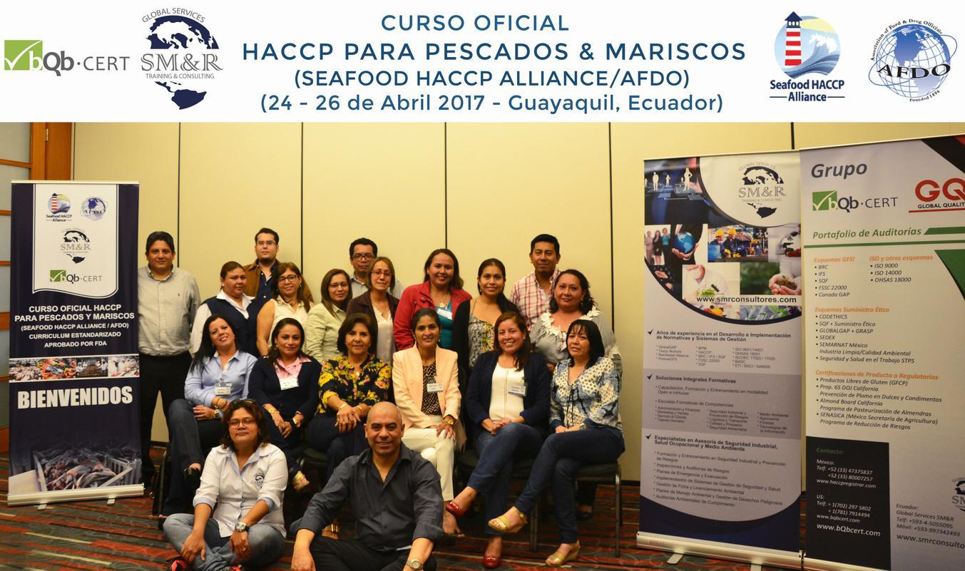Grupo 1 SeaFood HACCP Alliance Abril 2017p