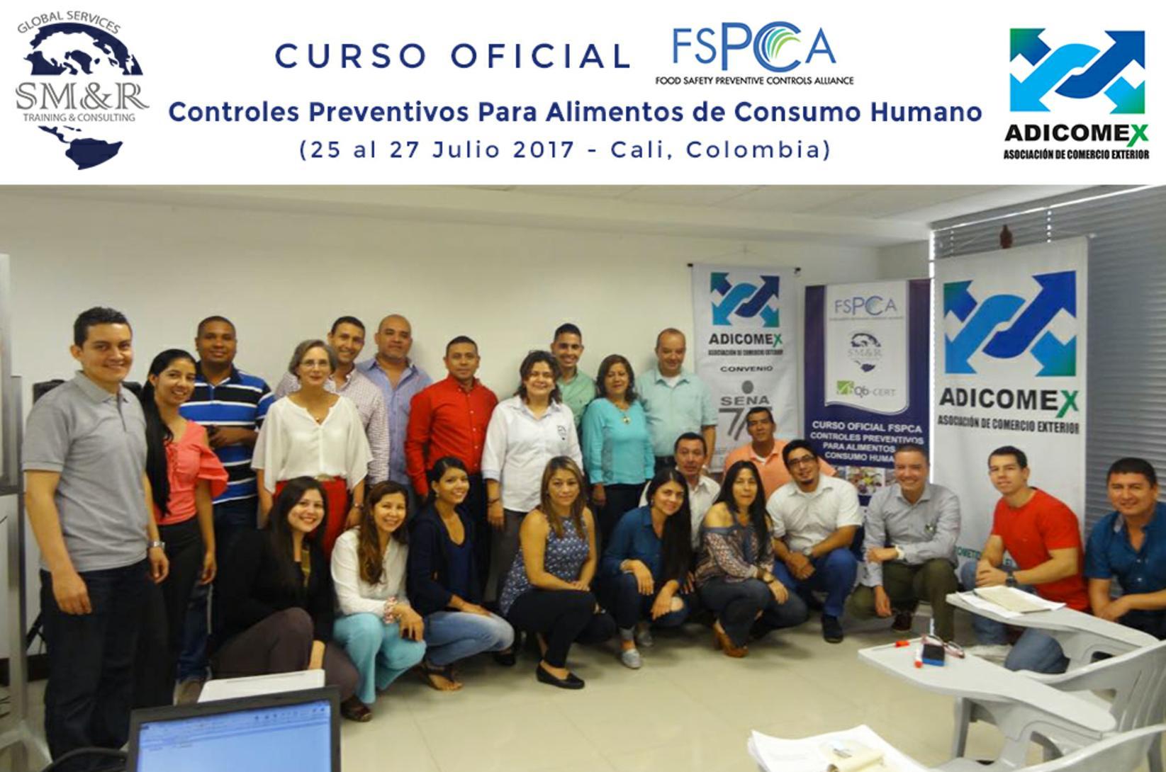 Grupo L FSPCA Cali Julio 2017